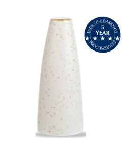 Churchill Stonecast Bud Vase Barley White