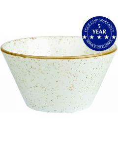 Churchill Stonecast Sauce Dish Barley White