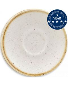 "Churchill Stonecast Saucer 6.25"" Barley White"