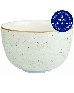 Churchill Stonecast Sugar Bowl Barley White