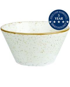 Churchill Stonecast Zest Bowl 12oz Barley White