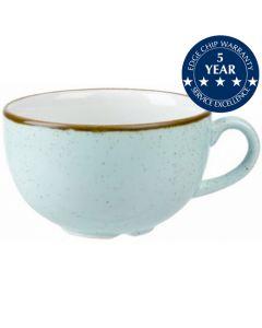 Churchill Stonecast Cappuccino Cup 12oz Duck Egg Blue