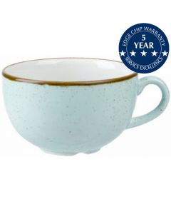 Churchill Stonecast Cappuccino Cup 16oz Duck Egg Blue