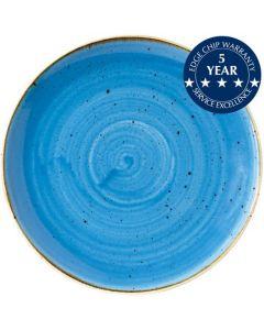 "Churchill Stonecast Coupe Plate 11.25"" Cornflower Blue"