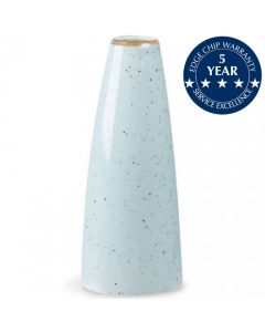 Churchill Stonecast Bud Vase Duck Egg Blue