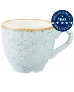 Churchill Stonecast Espresso Cup 3.5oz Duck Egg Blue