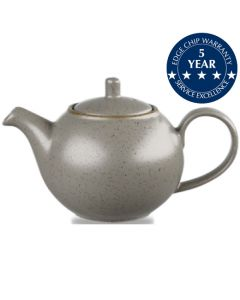 Churchill Stonecast Beverage Pot 15oz Peppercorn Grey