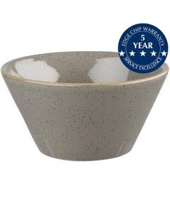 Churchill Stonecast Zest Bowl 12oz Peppercorn Grey