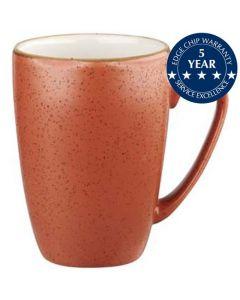 Churchill Stonecast Mug 12oz Spiced Orange