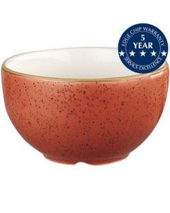 Churchill Stonecast Sugar Bowl Spiced Orange