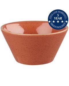 Churchill Stonecast Zest Bowl 12oz Spiced Orange