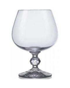 Claudia Crystal Brandy Glass 8oz