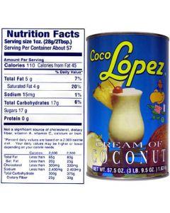 Coco Lopez 15oz Can x 1
