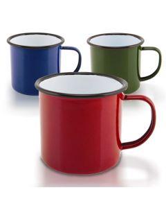 Coloured Enamel Mugs