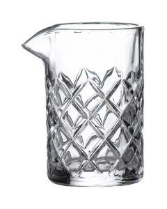 Cut Glass Stirring Glass 14oz