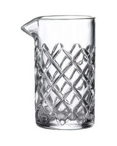 Cut Glass Mixing Glass 19.25oz