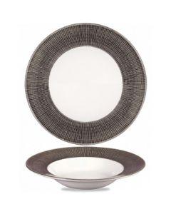 Churchill Bamboo Wide Rim Bowl 16.5oz Dusk