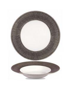 Churchill Bamboo Wide Rim Bowl 10oz Dusk
