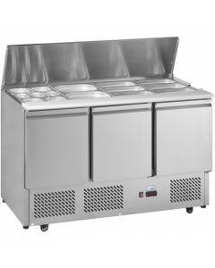 Interlevin Gastronorm Counter Fridge ESL1365