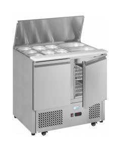 Interlevin Gastronorm Saladette Counter ESA900