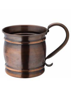 Aged Copper Barrel Mug 19oz