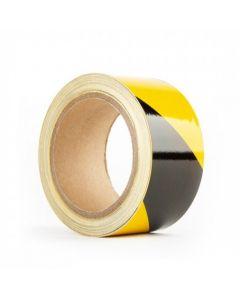 Yellow/Black Stripe Adhesive Floor Tape