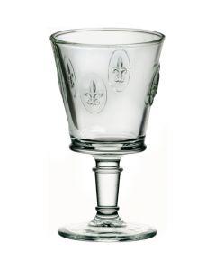 Fleur de Lys Wine Glasses