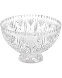 Footed Punch Bowl 11 Litre Hight Impact Styrene