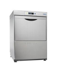 Classeq Glasswasher G500 DUO/WS with Water Softener & Drain Pump (500mm)