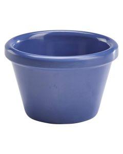Smooth Blue Melamine Ramekin 2oz