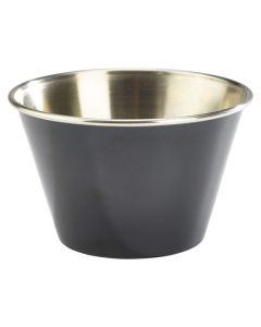 Black Stainless Steel Ramekin 2.5oz
