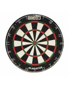 Gladiator Bristle Professional Dart Board Staple Free Spider