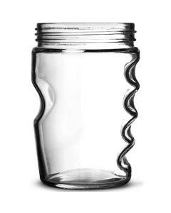 Grip Jar Glass 18oz