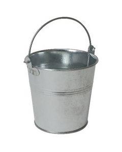 Galvanised Steel Serving Bucket 10cm Ø
