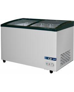 Prodis GV1 Grande Vista Curved Glass Chest Freezer