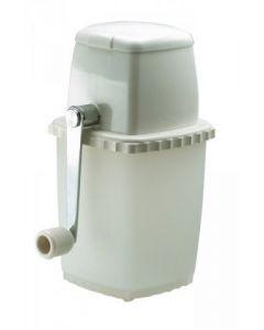White Plastic Manual Ice Crusher