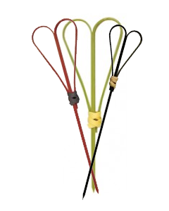 Looped Heart Skewers Assorted Colours