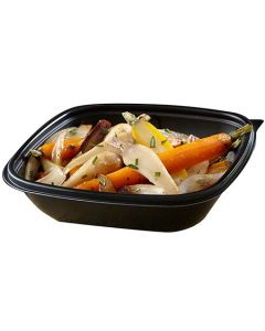 Fastpac Square Microwavable Container 500 ml