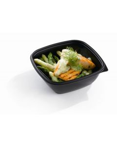 Fastpac 750 ml Square Microwavable Container