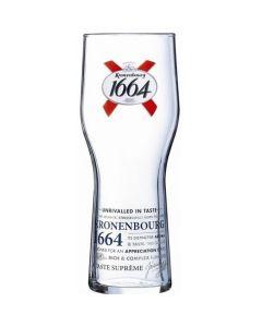 Kronenbourg Beer Glass 20oz