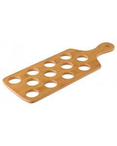 12 Shot Bamboo Shot Paddle