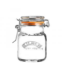 Kilner Square Clip Top Spice Jar 70ml