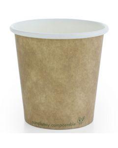 Vegware Compostable Kraft Hot Cup 4oz