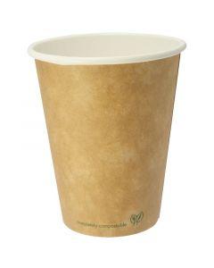 Vegware Compostable Kraft Hot Cup 8oz