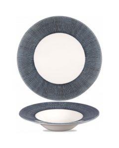 Churchill Bamboo Wide Rim Bowl 16.5oz Mist