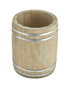 Miniature Wooden Barrel