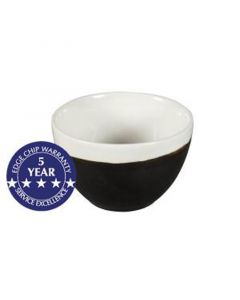 Churchill 8oz Monochrome Sugar Bowl Onyx Black
