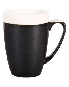 Churchill 12oz Monochrome Mug Onyx Black