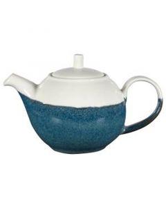 Churchill 15oz Monochrome Beverage Pot Sapphire Blue