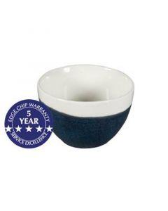 Churchill 8oz Monochrome Sugar Bowl Sapphire Blue